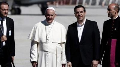 Συνάντηση του Αλέξη Τσίπρα με τον Πάπα στο Βατικανό – Τι συζήτησαν