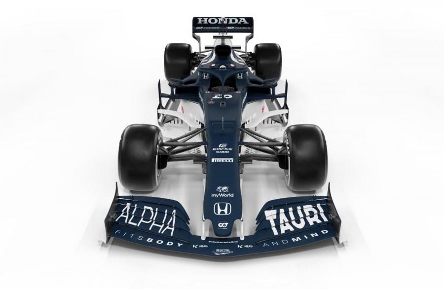 Παρουσιάστηκε η Alpha Tauri AT02 για την F1 2021