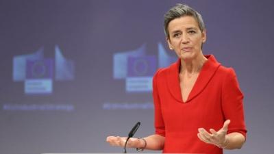Vestager (Κομισιόν): Εντός του 2022 σε ισχύ οι κανόνες για το «μπλόκο» στις κινεζικές εξαγορές στην ΕΕ