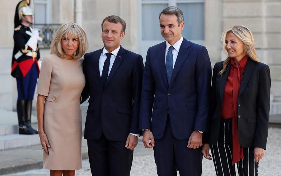 Μητσοτάκης: Καλώ τους Γάλλους επιχειρηματίες στην Ελλάδα - Macron: Καμία ανοχή στις προκλήσεις της Τουρκίας στην κυπριακή ΑΟΖ