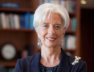 Lagarde: Η νομισματική σύσφιξη από τη Fed δεν θα είναι τόσο επιθετική όσο προβλεπόταν