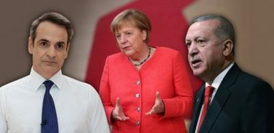 Στην Αθήνα η Merkel μετά τις μπίζνες με τον Erdogan - Η «ατζέντα» της εθιμοτυπικής συνάντησης με τον Μητσοτάκη
