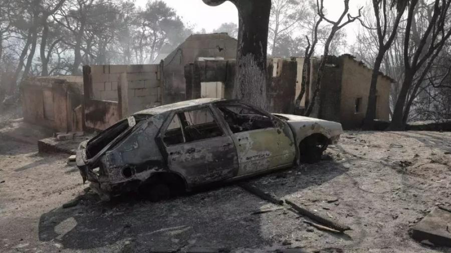 Πάτρα: Έμεινε για ένα μόνο βράδυ στο νέο του σπίτι και την επομένη καταστράφηκε από τη φωτιά
