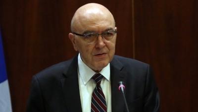 Φραγκογιάννης (Υφυπ. Εξωτερικών): Η κυβέρνηση εγγυάται ένα σταθερό φιλοεπενδυτικό περιβάλλον