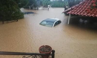 Ζημιές σε 1.706 κτίρια από τη φονική πλημμύρα στην Εύβοια