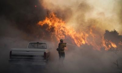 Νέα εξέλιξη: Έρευνα συνδέει τα αυξημένα κρούσματα Covid με τους καπνούς από τις μεγάλες πυρκαγιές