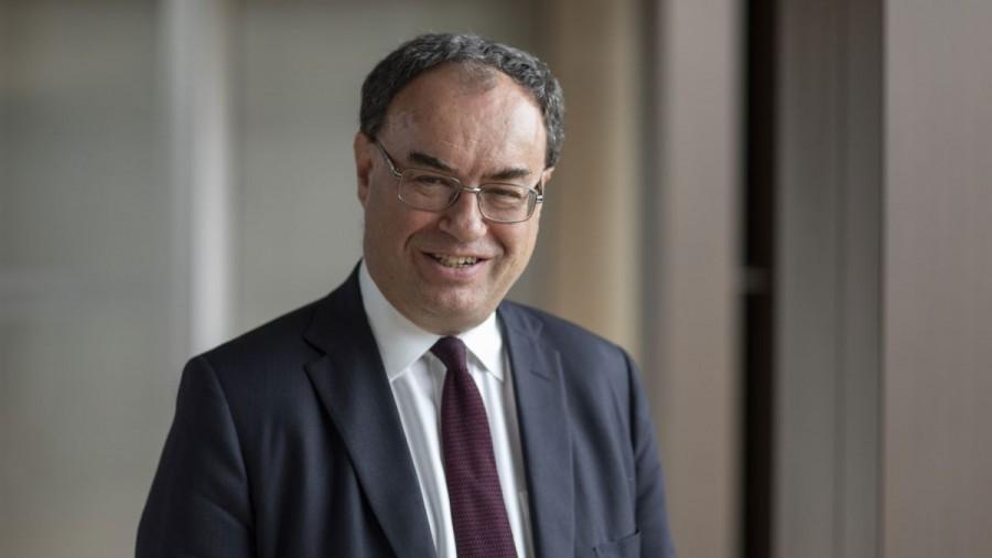 Bailey (ΒοΕ):  Το δεύτερο κύμα της πανδημίας επιβραδύνει την ανάκαμψη της οικονομίας της Βρετανίας
