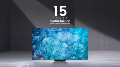Η Samsung παραμένει ο No.1 κατασκευαστής τηλεοράσεων παγκοσμίως για 15η συνεχή χρονιά