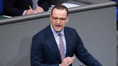 Spahn (Γερμανία): Με «μέτρο» η έξοδος από την πανδημία, μην έχουμε εκτόξευση κρουσμάτων λόγω μεταλλάξεων