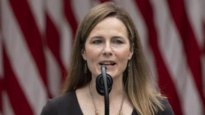 Reuters: Προς έγκριση του διορισμού Barrett (ΗΠΑ) στο Ανώτατο δικαστήριο η Γερουσία - Επιβεβαιώνει τη συντηρητική πλειοψηφία