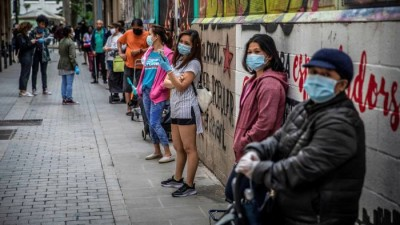 Νέο κύμα φτώχειας στην Ισπανία φέρνει η πανδημία του κορωνοϊού