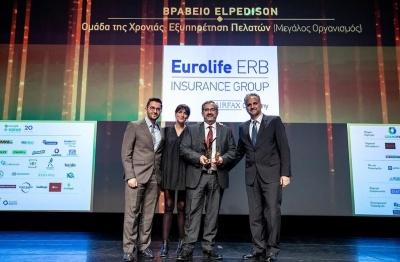 Eurolife ERB: Διάκριση στα Εθνικά Βραβεία Εξυπηρέτησης Πελατών