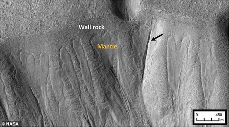 Ακόμα πιο κοντά στην απόδειξη εξωγήινης ζωής - «Αποτυπώματα» λιωμένου πάγου στον Άρη