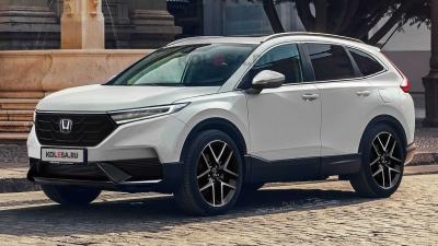 Το νέο Honda CR-V θα μπορούσε να είναι κάπως έτσι