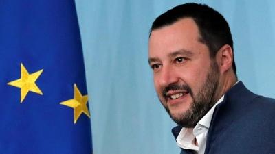 Ιταλία: Στα ύψη το προβάδισμα της Lega – Στη δεύτερη θέση οι Σοσιαλιστές