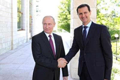 Συνάντηση Putin με Assad στη Συρία: «Αποκαθίσταται η εδαφική ακεραιότητα της χώρας»