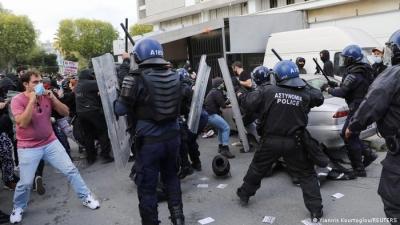 Κύπρος: Χιλιάδες διαδηλωτές κατά της διαφθοράς και της αστυνομικής βίας