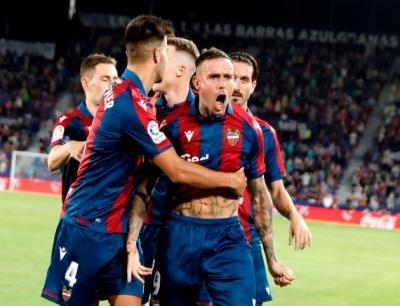 Λεβάντε - Ρεάλ Μαδρίτης 2-1: Ολική ανατροπή με Καμπάνια για τους «γρανότες» (video)