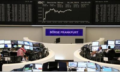 Οριακή άνοδος στις ευρωαγορές στον απόηχο των εκλογών - Στο +0,5% ο DAX, σχεδόν αμετάβλητο το ευρώ
