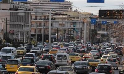 Μεγαλύτερη κίνηση στους αθηναϊκούς δρόμους τον Φεβρουάριο 2021, από πέρυσι, προ lockdown!