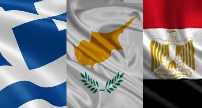Τριμερής των υπουργών Άμυνας Ελλάδας, Κύπρου και Αιγύπτου στη Λευκωσία