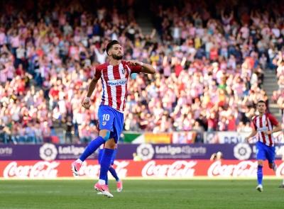 Εσπανιόλ – Ατλέτικο Μαδρίτης 1-2: Απίστευτη απόδραση για τους «ροχιμπλάνκος» στο 100ο λεπτό, με γκολ του Λεμάρ! (video)