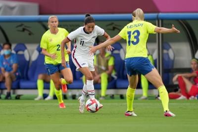 Σουηδία - ΗΠΑ 3-0: Ηττήθηκε μετά από 7 χρόνια η γυναικεία ποδοσφαιρική ομάδα των ΗΠΑ!