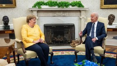 Συνάντηση Biden – Merkel: Συμφώνησαν ότι διαφωνούν για τον Nord Stream 2 - Ενιαίο μέτωπο κατά Ρωσίας, Κίνας