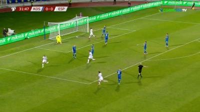 Κόσοβο – Ισπανία 0-1: Έκρυψαν την μπάλα και ανοίγουν το σκορ οι Ισπανοί (video)