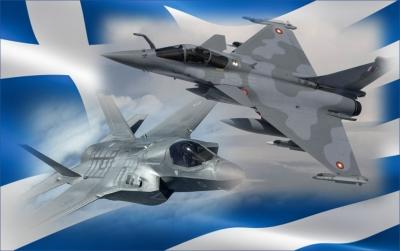 Τα πρώτα μαχητικά Rafale με τα ελληνικά χρώματα