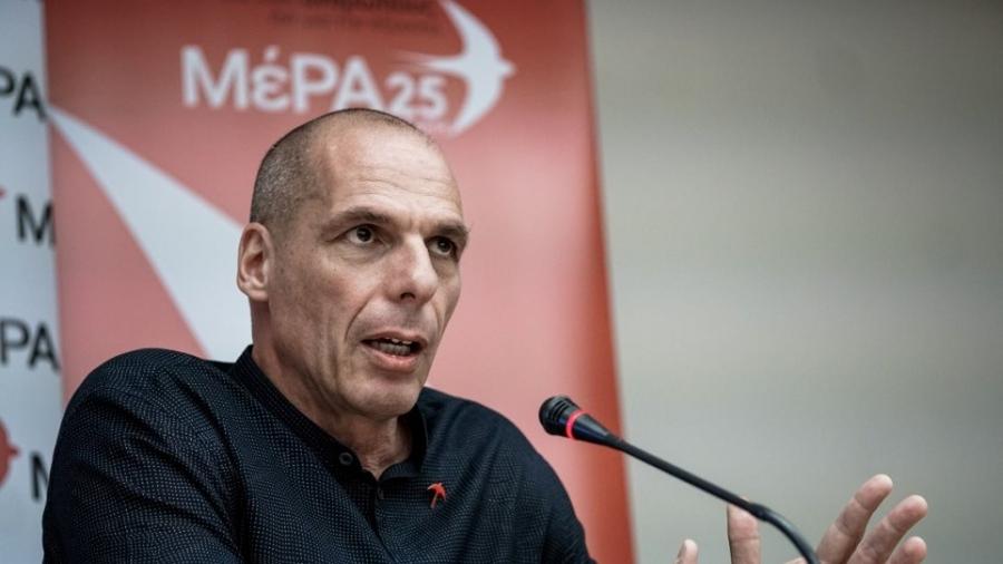 Βαρουφάκης για ΑΕΠ: Η ΕΛΣΤΑΤ έδωσε ύφεση -11,7% και ο ΥΠΟΙΚ γιορτάζει … το -8%