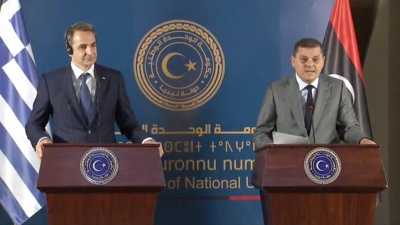 Μητσοτάκης: Επανεκκινούμε τις διμερείς σχέσεις Ελλάδας - Λιβύης, όχι σε παράνομες, δήθεν διακρατικές συμφωνίες
