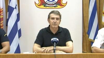 Χρυσοχοΐδης: Οριοθετημένη η φωτιά στη Λαυρεωτική, καλύτερη η κατάσταση στα Βίλια