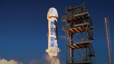Bezos: Ιστορικό ρεκόρ το 7ο ταξίδι του New Shepard στο Διάστημα