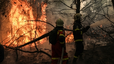 Μάχη με τον χρόνο για τις αναζωπυρώσεις σε Ηλεία, Αρκαδία - Πάνω από 10 χλμ. το μέτωπο στη Γορτυνία