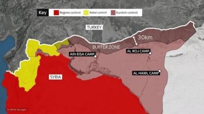Φόβοι για γενικευμένη σύρραξη στη Συρία - Τουρκικές και συριακές δυνάμεις στη Manbij - Trump σε Erdogan: Σταματήστε τώρα την εισβολή
