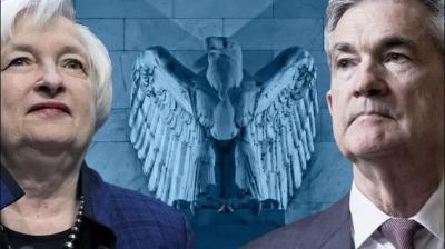 H Yellen στηρίζει τον Powell για μια δεύτερη θητεία στην Fed - Δύσκολη απόφαση για Biden