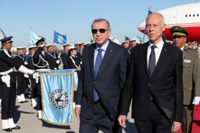 Απορρίπτει την πρόταση και δεν στηρίζει τον Erdogan η Τυνησία: «Δεν του δίνουμε λιμάνια»