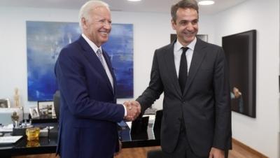 Το φθινόπωρο του 2021 η επίσκεψη Μητσοτάκη στην Ουάσιγκτον - Τι θα συζητήσει με Biden
