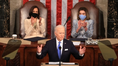 Biden στο Κογκρέσο: Η Αμερική είναι έτοιμη να απογειωθεί - Ώρα να πληρώσει το 1% των πιο πλούσιων