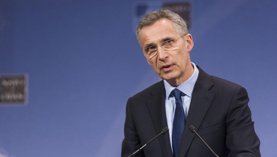 Stoltenberg (NATO): Πρέπει να αντιμετωπίζουμε τυχόν διαφορές ειλικρινά, ως Σύμμαχοι και φίλοι, όπως κάνουμε στην Αν. Μεσόγειο