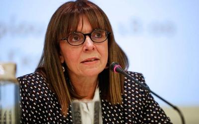 Σακελλαροπούλου (ΠτΔ): Θα ισχυροποιηθούν οι σχέσεις φιλίας και συνεργασίας με τις ΗΠΑ