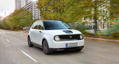Οδηγούμε το ηλεκτρικό Honda e στην Γερμανία!
