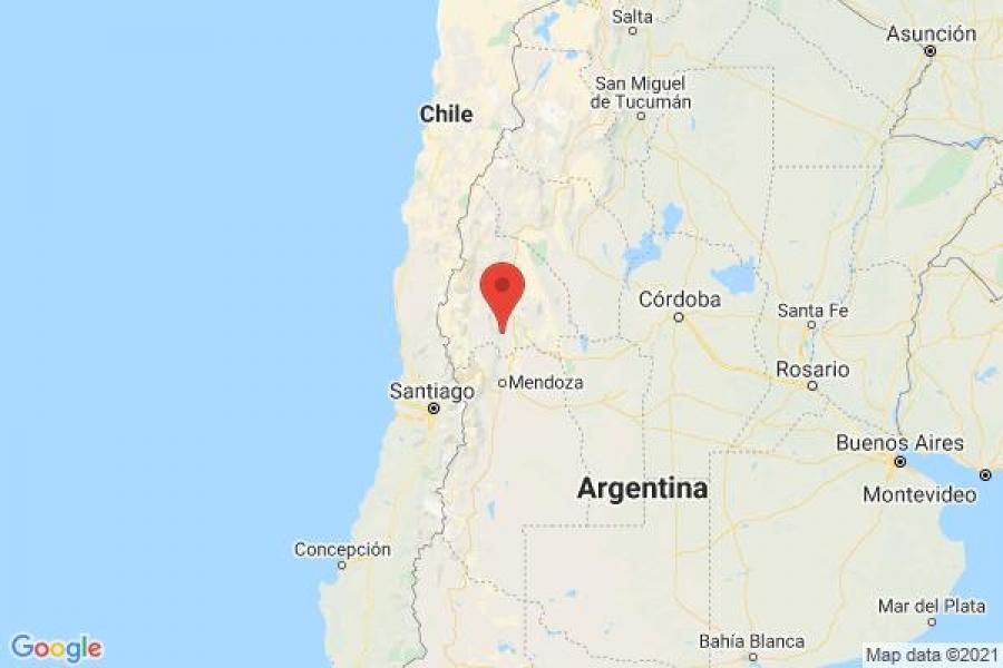 Σεισμός 6,8 βαθμών της κλίμακας Ρίχτερ στην Δυτική Αργεντινή