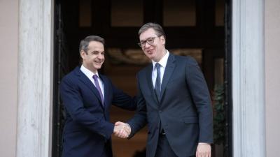 Μήνυμα Μητσοτάκη στoν Erdogan - Η Ελλάδα έχει ισχυρούς συμμάχους, να μην παρερμηνεύεται η ψύχραιμη στάση μας - Στήριξη από τη Σερβία