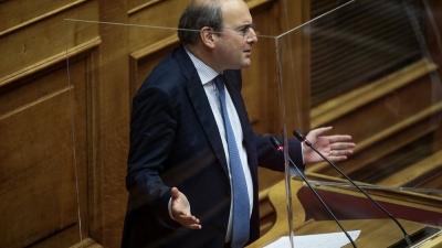 Χατζηδάκης (υπ. Εργασίας) προς ΣΥΡΙΖΑ: Είστε δογματικοί, εμείς είμαστε με τους νέους και την κοινή λογική