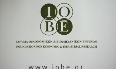 ΙΟΒΕ: Βελτίωση της βιομηχανικής παραγωγής 4,2% τον Απρίλιο του 2021