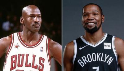 Στο... παρκέ των κρυπτονομισμάτων οι θρύλοι του NBA Michael Jordan και Kevin Durant
