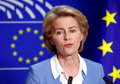 Von der Leyen σε Τουρκία: Οι γείτονες να ξέρουν ότι, αν μιλούν σε ένα κράτος μέλος, τότε μιλούν στην ΕΕ