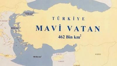 Επιμένει για τη Γαλάζια Πατρίδα η Τουρκία - Στην υφαλοκρηπίδα μας οι έρευνες του Oruc Reis - Προκλητικοί χάρτες